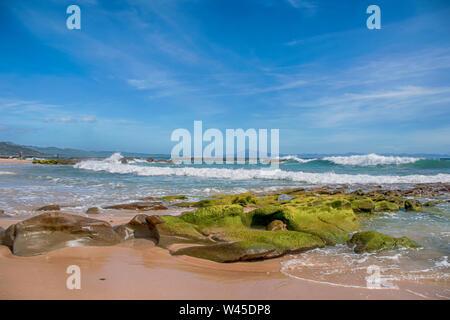 Belles plages vierges de l'Andalousie, dans la province de Cádiz Valdevaqueros