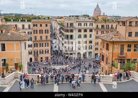 D'Espagne, Rome, Italie Banque D'Images