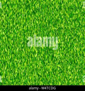 L'herbe verte motif transparent background vector Banque D'Images