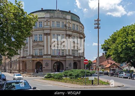 NIS, Serbie - 15 juin 2019: Création de l'Université de Nis à partir de la forteresse, Serbie