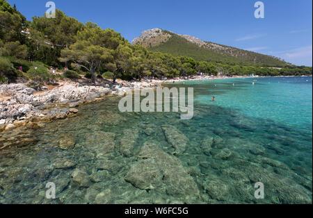 Playa de Formentor, Playa de Formentor Banque D'Images