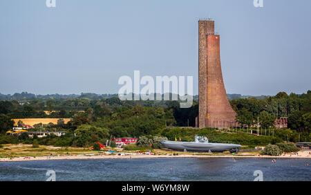 Vue de mer de la marine de Laboe à Laboe, près de Kiel, Allemagne, le 25 juillet 2019 Banque D'Images