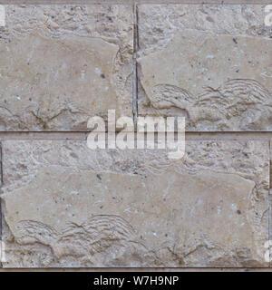 Abstract pattern photo transparente pour les concepteurs ou développeurs. La maçonnerie en pierre naturelle avec des fragments de Rhombus. Banque D'Images