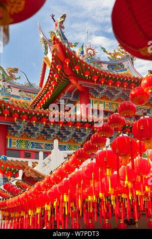 Thean Hou Temple chinois, Kuala Lumpur, Malaisie, 2012 Banque D'Images