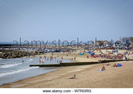 La baie de Lyme Lyme Regis Dorset Angleterre Banque D'Images