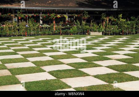 Les jardins japonais sont une attraction touristique populaire dans la capitale Argentine de Buenos Aires