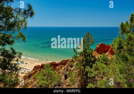 Praia da Falésia, Algarve, Portugal