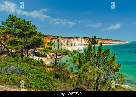 Praia da Falésia près de Albufeira, Algarve