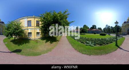 Forteresse Pierre-et-Paul, cour intérieure. St.Petersburg Banque D'Images