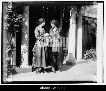 Alice Paul et Mme Pethick-Laurence