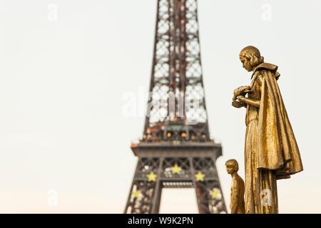 La Tour Eiffel, Paris, France, Europe Banque D'Images