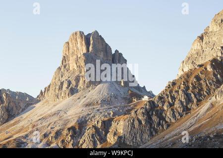 Rifugio Monte Nuvolau et dans les Dolomites, en Italie.