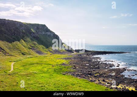 Chaussée des géants d'été,Côte d'Irlande du Nord