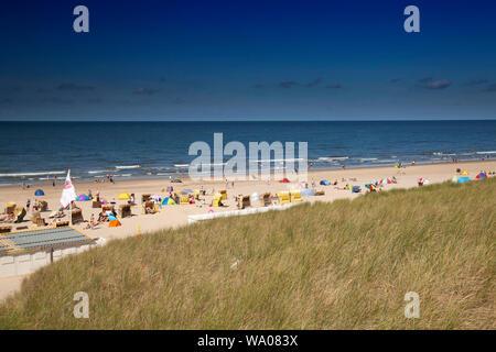 Paysage de dunes sur la plage d'Egmond, mer du Nord , la Hollande, Pays-Bas, 30057074 *** *** légende locale Banque D'Images