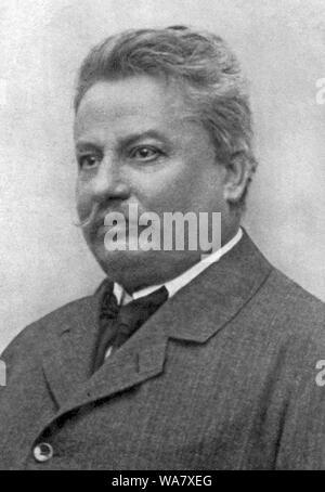 Giovanni Pascoli (1855 Placido Agostino - 1912) poète et érudit Italien