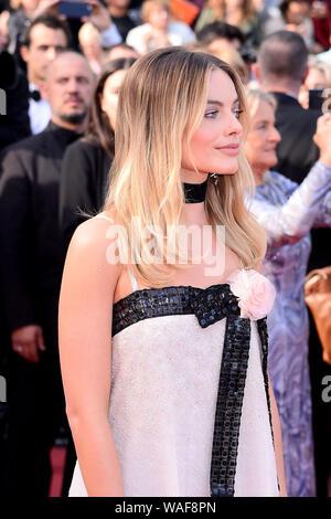 """Cannes, France. 21 mai, 2019. Premiere film 'Il était une fois à Hollywood"""" pendant la 72e Cannes Film Festival - Margot Robbie"""
