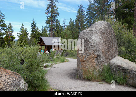 Logan Shoals Vista Point, Zephyr Cove, Lake Tahoe, Nevada, USA Banque D'Images