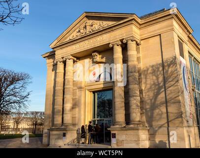 Musée de l'Orangerie à Paris, France. Banque D'Images