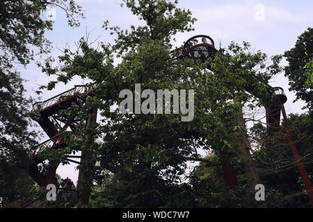 Kew Gardens treetop walkway Banque D'Images