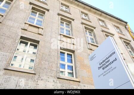 ' Résistance allemande Memorial Centre Berlin Allemagne'