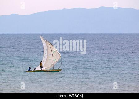 Le Burundi, le lac Tanganyika Banque D'Images