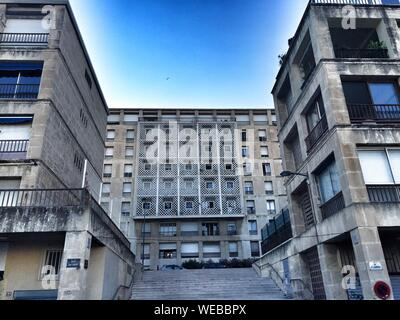 L'extérieur du bâtiment industriel Banque D'Images