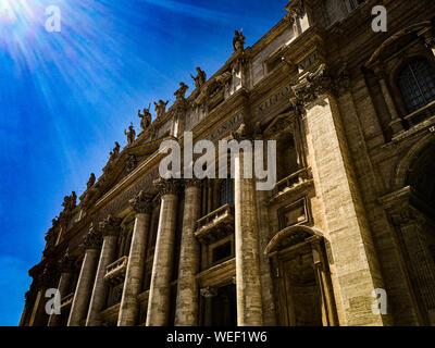 Rome, Italie, la Fontaine de Trevi Banque D'Images