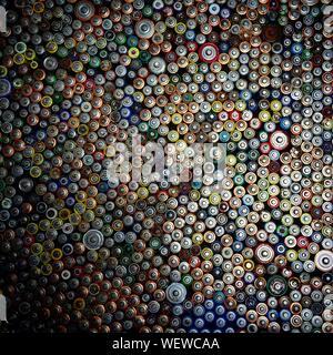 Full Frame Shot de piles colorées Banque D'Images