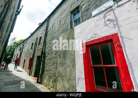 Lane chromate, Lerwick, Shetland, continentale, Ecosse, Royaume-Uni Banque D'Images
