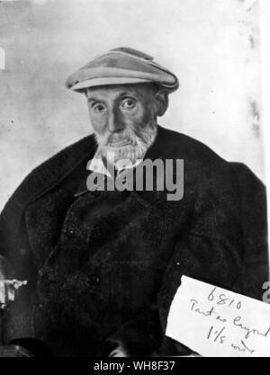 Pierre Auguste Renoir (1841-1919), peintre impressionniste français self portrait. Banque D'Images