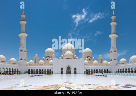 Grande Mosquée de Sheikh Zayed, Abu Dhabi, Émirats arabes unis, Moyen Orient