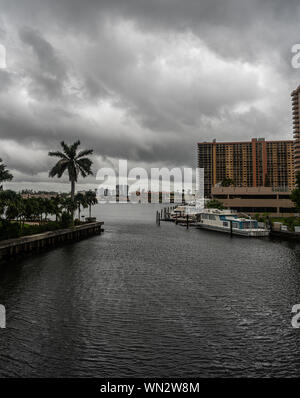Sunny Isles Beach, Florida, USA Banque D'Images