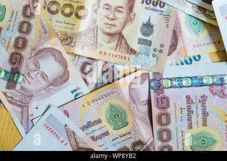 THB 1000 contexte de l'argent fermer l'objet de l'entreprise concept, Thai argent note