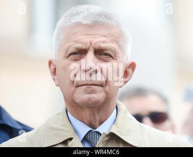 5.05.2019 Lodz, Pologne. Coalition européenne congrès du parti. Photo: Marek Belka Banque D'Images