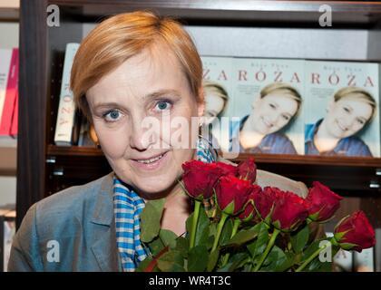 20. 03. 2014 Varsovie, Pologne. Roza Thun la promotion de son livre. Sur la photo: Roza Thun Banque D'Images