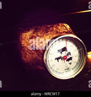 Thermomètre à viande et