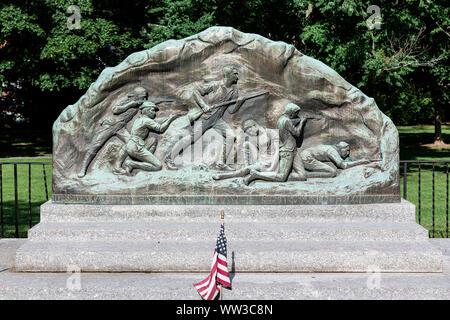 Minute Men memorial, Lexington, Massachusetts, USA