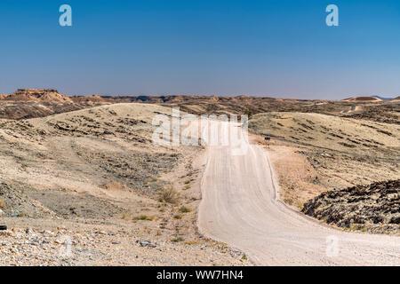 Route de terre, Col Kuiseb, Erongo, Namibie