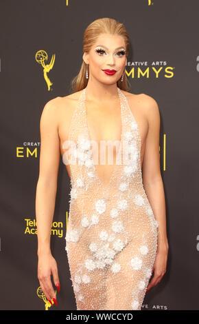 Los Angeles, Californie, USA. 14Th Sep 2019. Valentina. 2019 Creative Arts Emmy Awards s'est tenue au Théâtre de Microsoft. Credit: FSadou/AdMedia/Newscom/Alamy Live News Banque D'Images