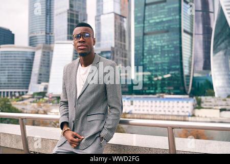 Les jeunes Afro-américains avec une certaine apparence. Banque D'Images
