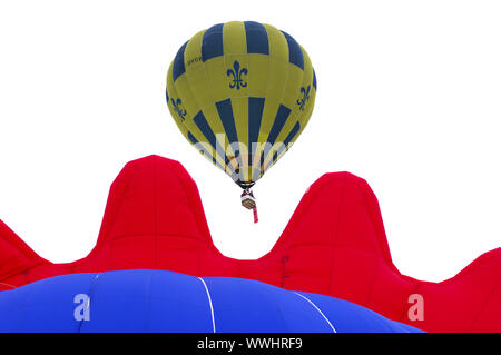 Balloon Thunder & Colt AX8-105 S2 dans l'air Banque D'Images