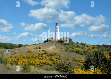 Le phare,Hiddensee mer baltique,Mecklembourg-Poméranie-Occidentale, Allemagne