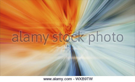 Voyage interstellaire, l'heure et hyper jump dans l'espace. Le vol par wormhole tunnel ou de l'énergie résumé vortex. Singularité, gravit Banque D'Images