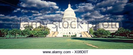 Modifié numériquement, contraste élevé image de la capitale américaine Banque D'Images