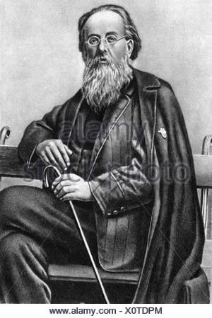 Tsiolkovskii, Konstantin Eduardovich, 17.9.1857 - 19.9.1935, Physicien, mathématicien russe, demi-longueur, Additional-Rights-Jeux-NA Banque D'Images