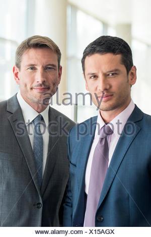 Partenaires d'affaires, portrait Banque D'Images