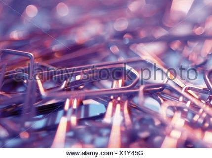Trombones Banque D'Images