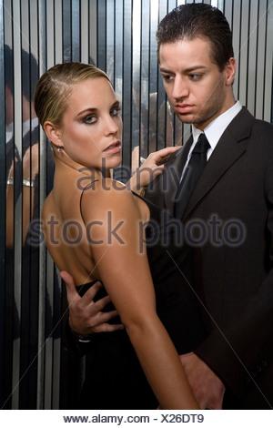 Jeune couple Banque D'Images