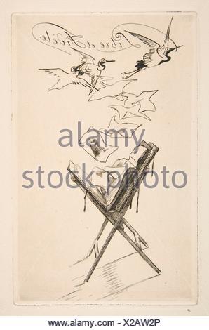 Frontispice pour Catalogue de la deuxième partie de l'importante collection de gravures modernes, gravures, lithographies, et à la propriété de Monsieur Banque D'Images