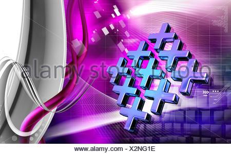 L'art religieux, et isolé, graphiques, couleurs, croix, illustration, numérique, Banque D'Images